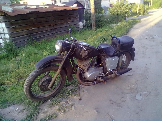 Фото - Мотоцикл ИЖ-56