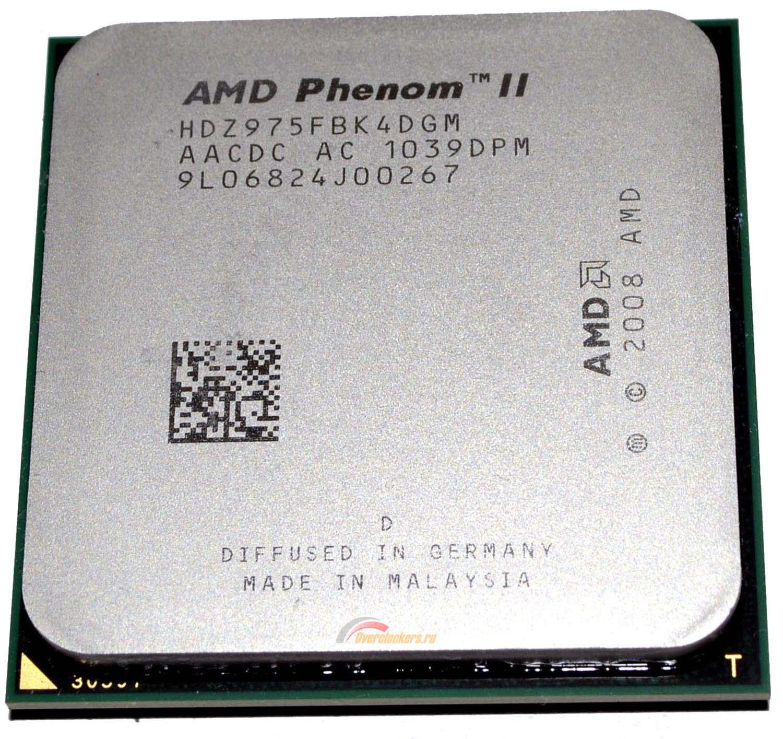 Фото - CPU AMD Phenom II X4 975  3,6Gz