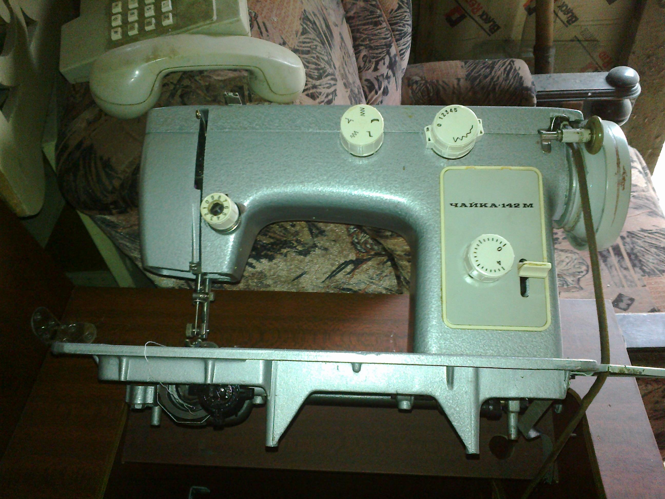 Фото - Швейная машинка.