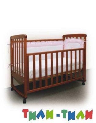 Фото - детская кроватка и ортопедичесский матрас