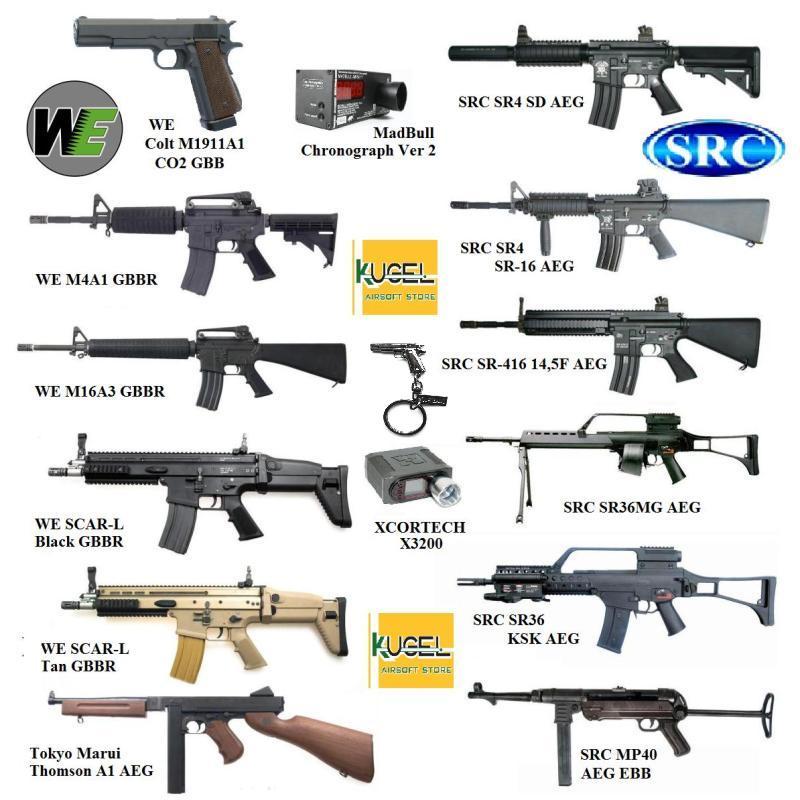 Фото - Страйкбольное оружие и амуниция г.Скопин
