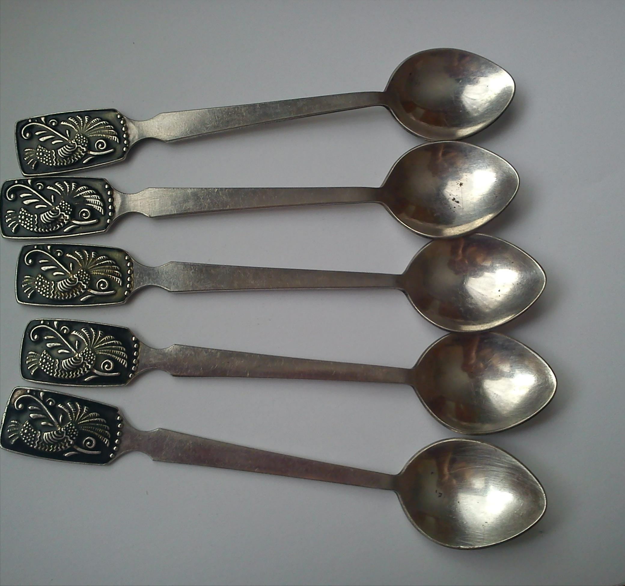 Фото - Продам серебрянные ложки.