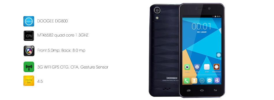 Фото - Телефон doogee DG 800 новый в упаковки+плёнка