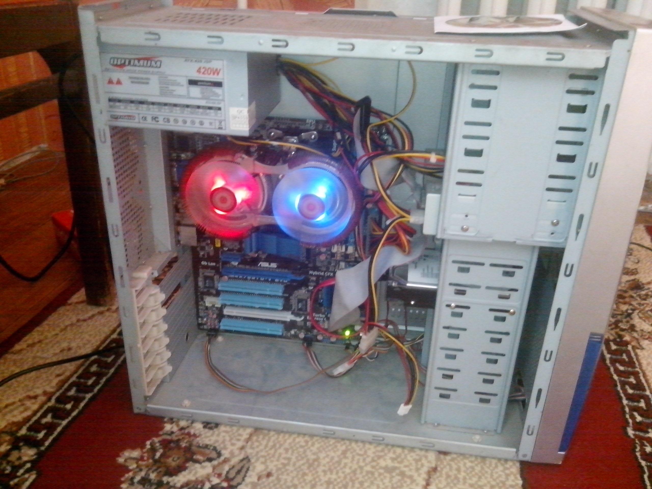 Фото - Мощьный 4-х ядерный компьютер
