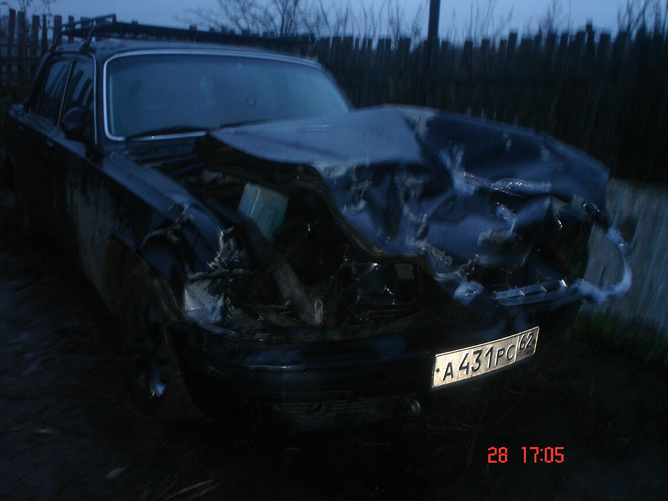 Фото - Волга ГАЗ 31105 - битая