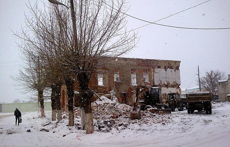 Разрушение Истории Скопина (фото С. Мохов)