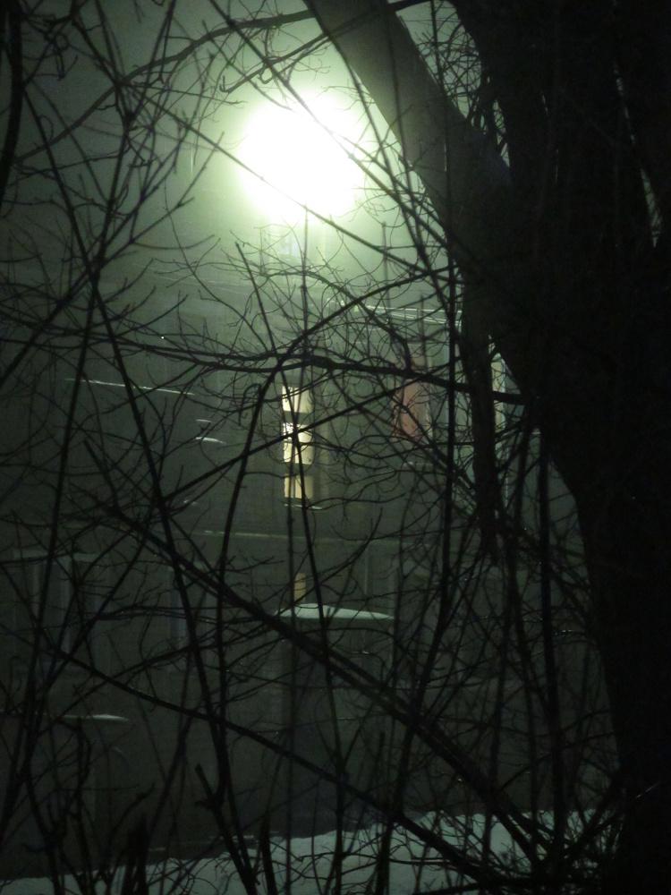 Вечерний туман в Скопине (Фото С. Мохов)