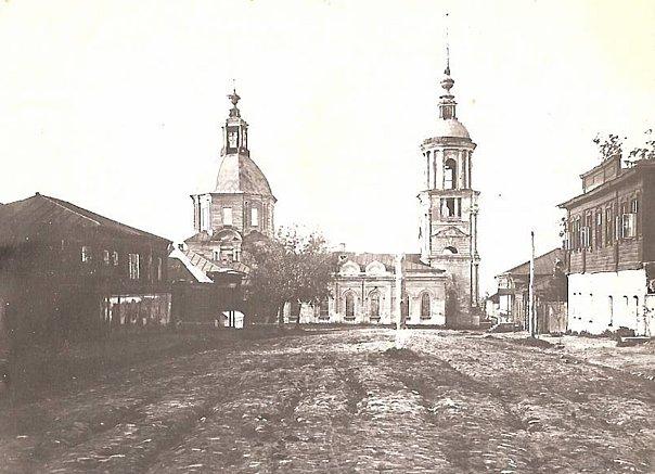 Скопин - Казанская церковь на Ряжской улице. Построена в 1819 г.