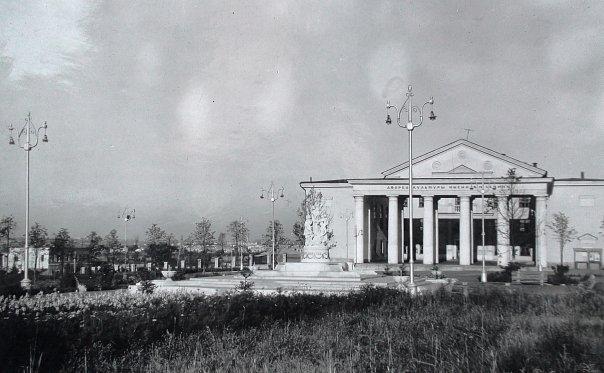 Площать и Дворец Культуры им. В.И.Ленина (1959 г.)