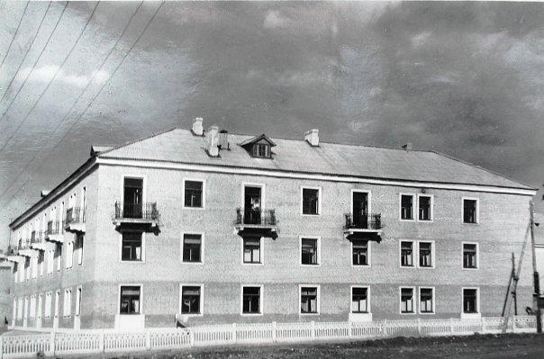 Посёлок Октябрьский. Жилой дом (1959 г.)