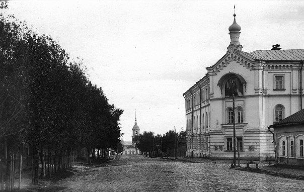 Ряжская улица. Реальное училище