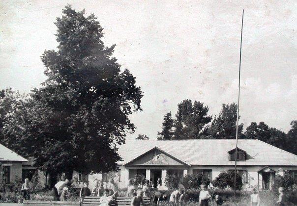 Село Чулково. Пионерский лагерь (1959 г.)