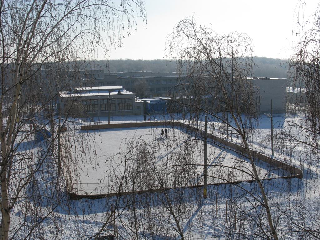 Вид на каток и 4 среднюю школу