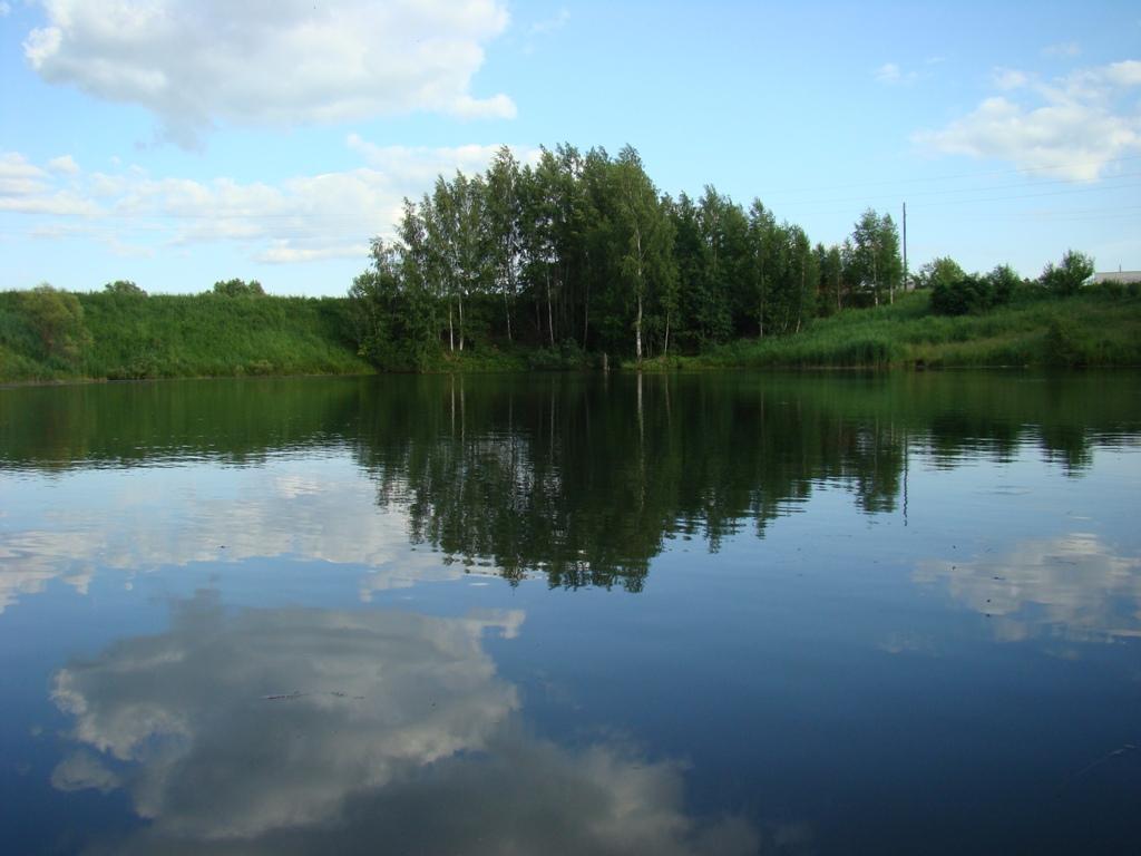Пруд в деревне Ивановка