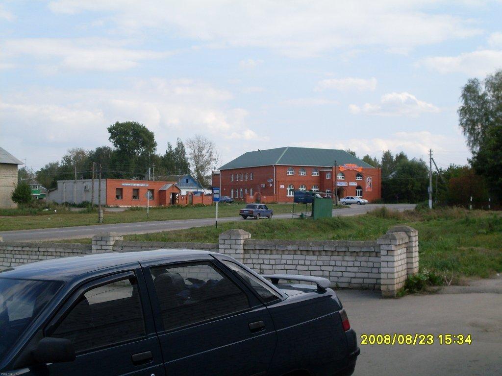 Въезд в село Успенское