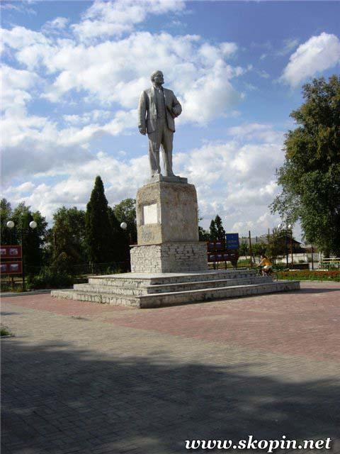 Памятник Ленину В. И.