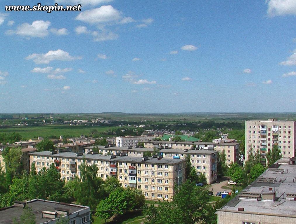 Автозаводской микрорайон - Вид с крыши