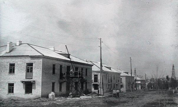 Строительство жилых домов по ул.К.Маркса (1959 г.)