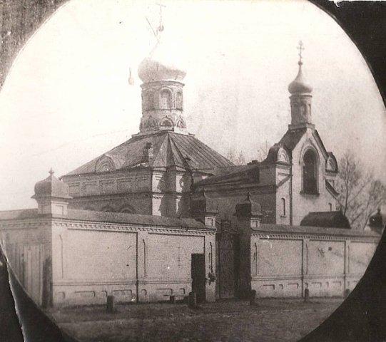 Тюремная церковь. Построена в 1904-1905 гг
