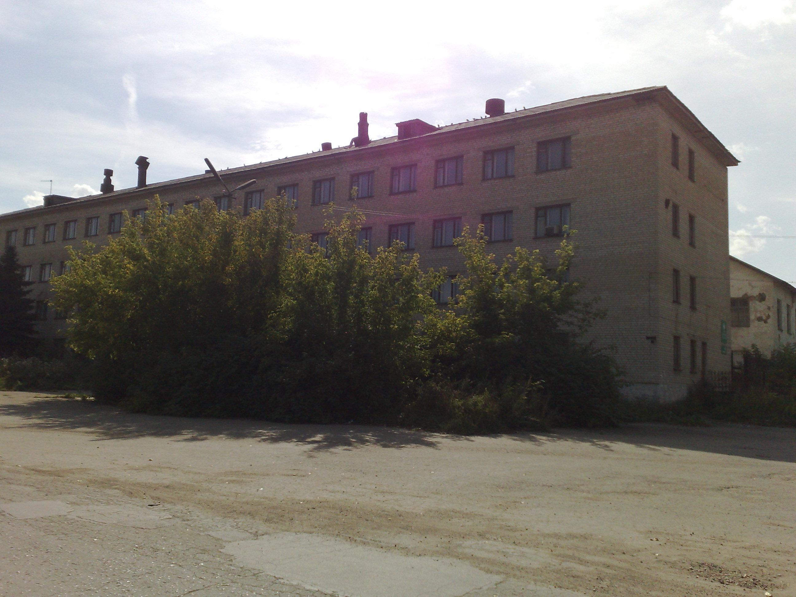 Бывшее Заводоуправление Машиностроительного завода п. Заречный