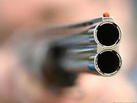 В Скопине, прямо в центре города, гражданин устроил стрельбу