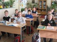 В Вердеревской школе Скопинского района прошел показательный урок