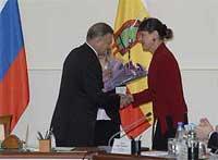 Губернатор Олег Ковалев вручил государственные награды